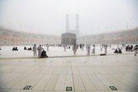 Hujan guyur Masjid Al-Haram