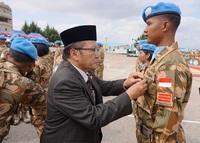 Medali kehormatan bagi Pasukan Garuda