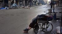 Wafat di kursi roda saat suami cari dokter