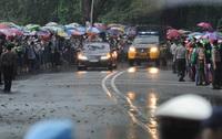 Raja Salman tiba di Indonesia