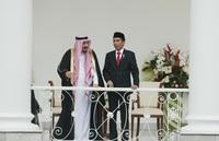 Pertemuan Raja Salman dan Presiden Joko Widodo