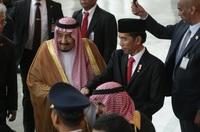 Pertemuan Raja Salman dan Presiden Joko Widdo