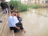 Dato Tahir ke Tempat Pembaptisan Yesus