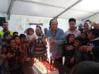 Bertemu pengungsi Suriah di Yordania