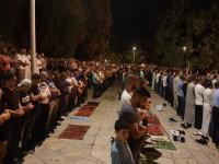 Tarawih di Al-Aqsa